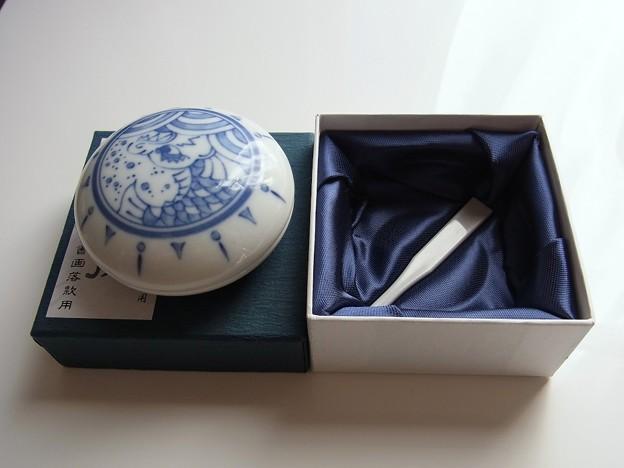 Shachihata - Inkpad (Chinaware)