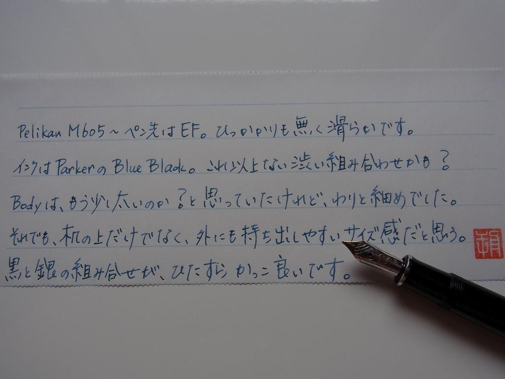 Pelikan Souveran M605 scribble #1