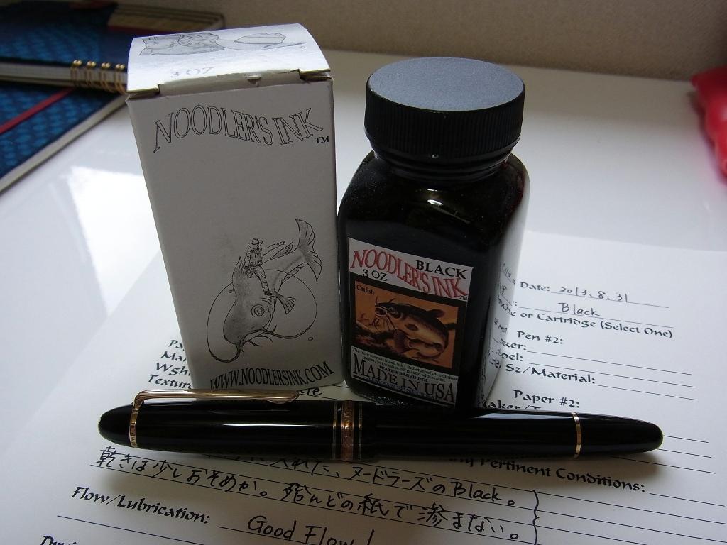 Noodler's Ink Black & Montblanc 146