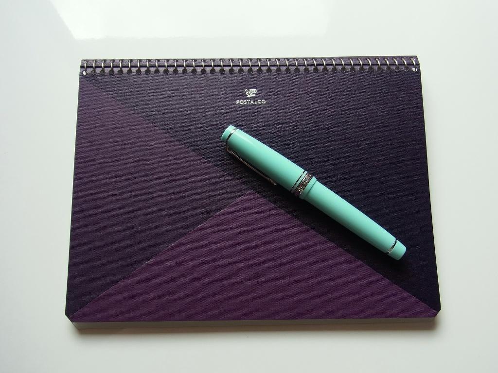 POSTALCO Violet Notebook