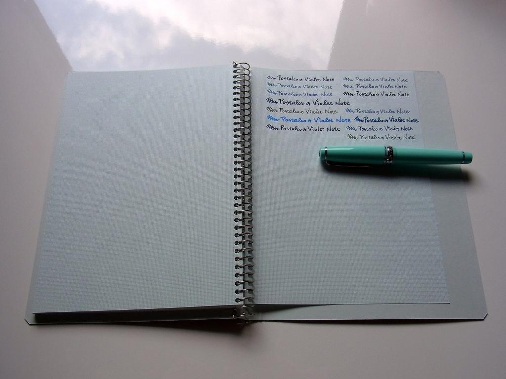 POSTALCO Violet Notebook (inner)