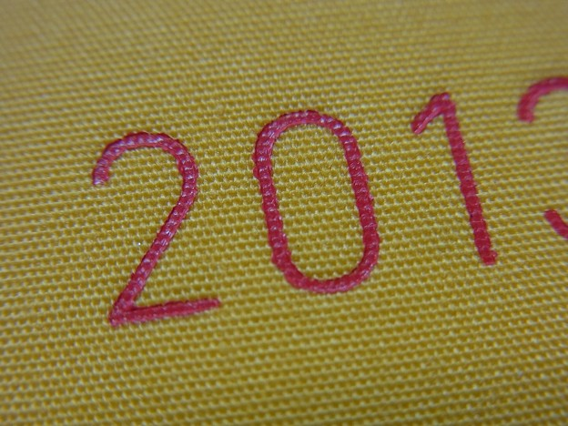 Hobonichi WEEKS Pocket Notebook 2013 (logo & fabric)