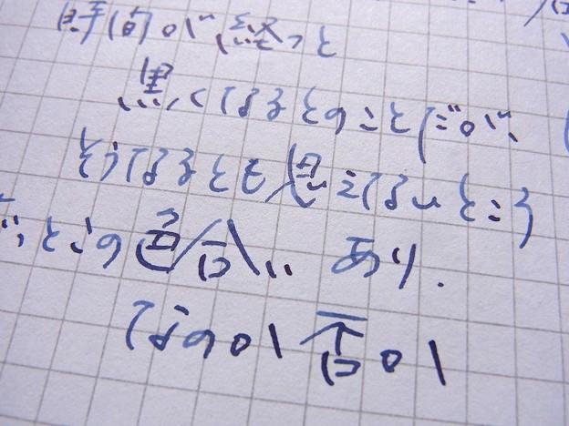 PLATINUM BB 富士(RHODIA)拡大