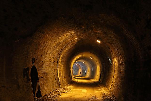 トンネル@アプトの道