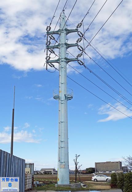 芳野台線8号鉄塔