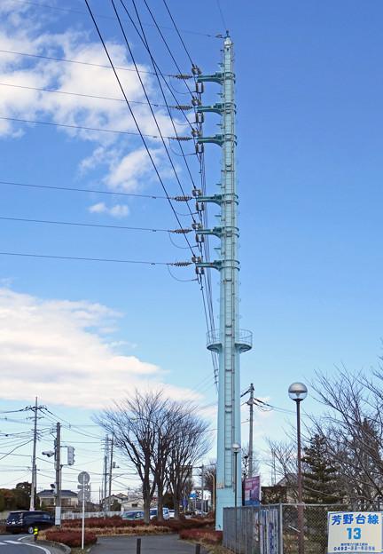 芳野台線13号鉄塔