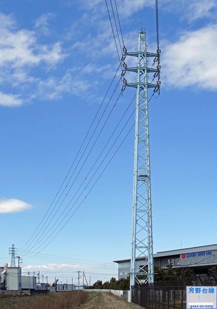 芳野台線17号鉄塔