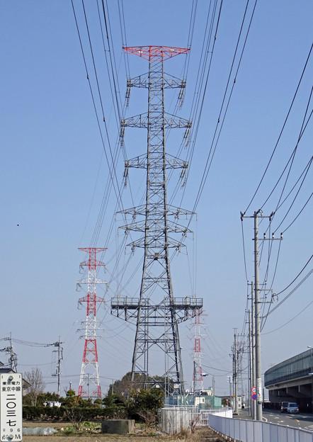 東京中線2037号鉄塔
