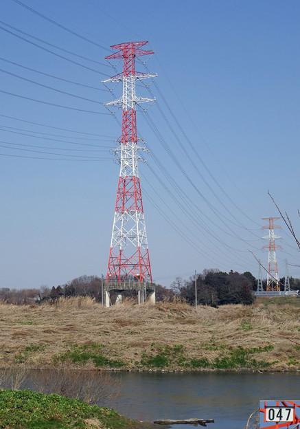 東京中線2047号鉄塔