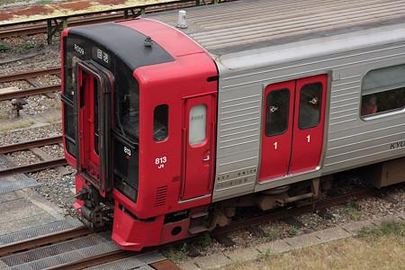 鹿児島本線門司港駅(813系)