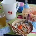 Photos: バンコク行きのチケット、やっぱり幅広の米麺がウンマイ!