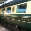 Photos: カンチャナブリ駅に豪華列車 イースタン オリエンタル エクスプレス が入っていました