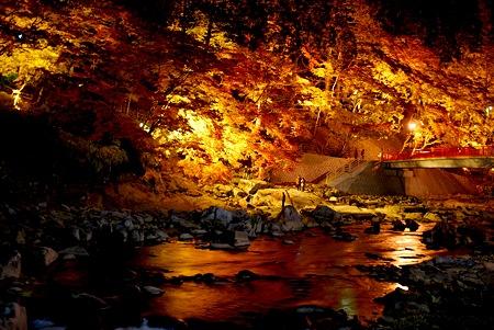 香嵐渓の川