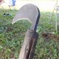 Photos: 俺の鎌 鍛冶屋さんの手作り品です