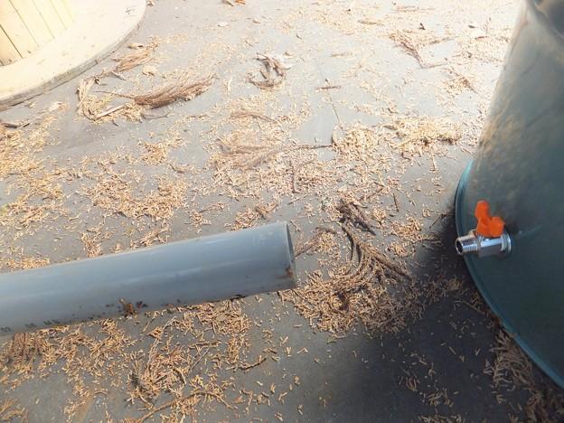 排水バルブの使い方