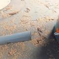 写真: 排水バルブの使い方