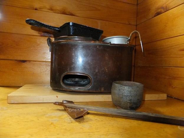 鉄鍋と燗どうこ