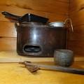 Photos: 鉄鍋と燗どうこ