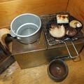 Photos: シイタケを焼く