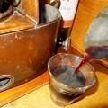 熱々の赤ワイン