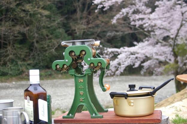 小野式製麺機1型の雄姿