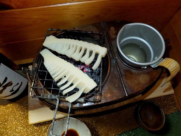 タケノコと燗銅壺