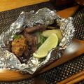 写真: 鴨ネギの胡桃味噌ホイル焼き