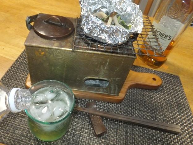 シメジとベーコン・ホイル焼き