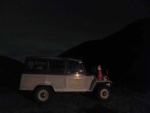 夜のJeep