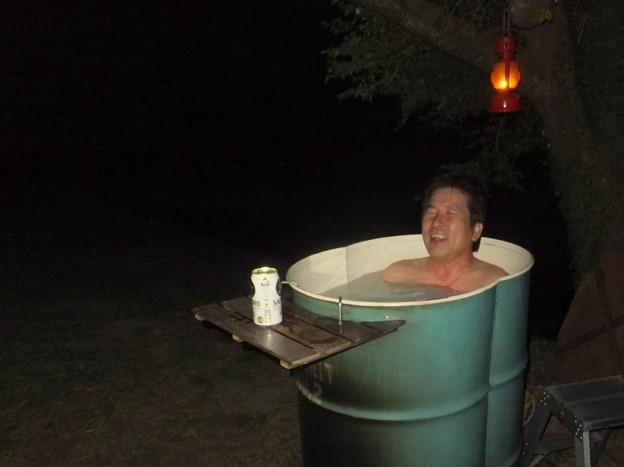 ビリーザキッド風呂へ