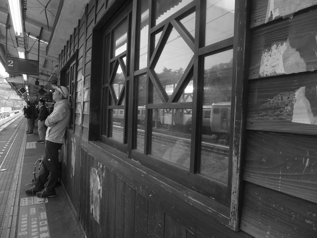 青梅駅で乗換えです