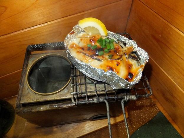 牡蠣の味噌マヨ焼き