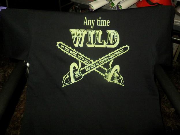 私が絵を描いたTシャツ