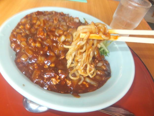 岩槻「永楽」ジャージャー麺