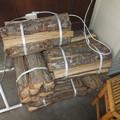 写真: 水嶋商店の薪