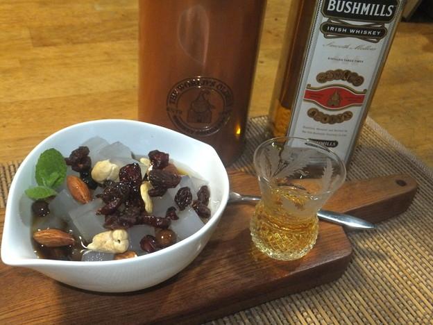 みつ豆とウイスキー