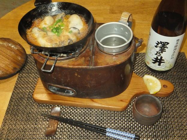 牡蠣の味噌マヨ焼き1