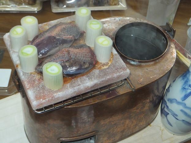 岩塩プレート焼き