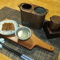 Photos: 奈良漬と燗どうこ