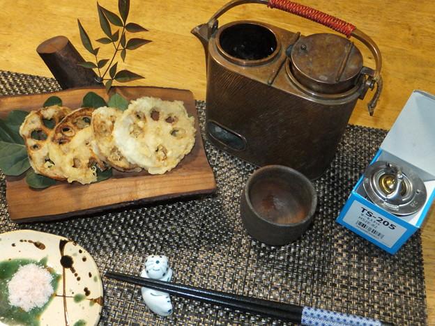 蓮根の天ぷら