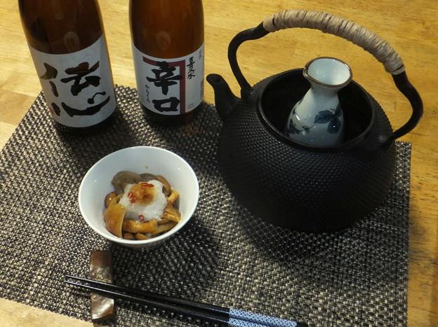 Photos: 鉄瓶でお燗