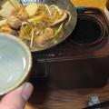 Photos: 葛きりと鶏の鍋