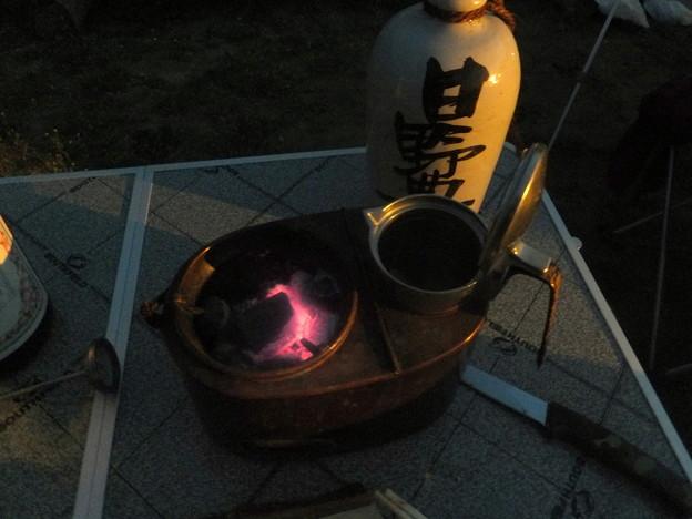 燗銅壺の夜は更けて
