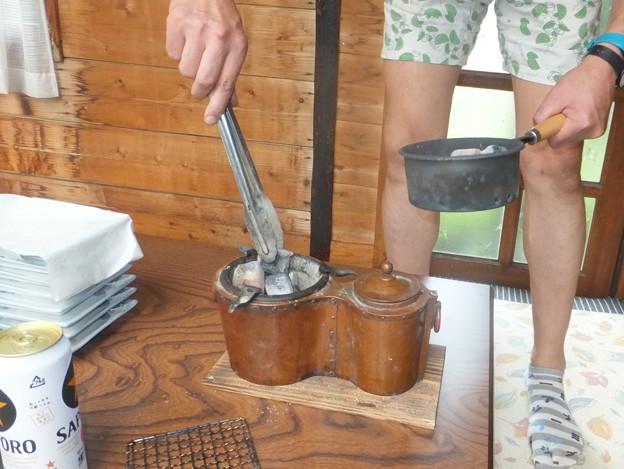 初夏の燗銅壺の会