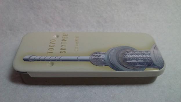 非売品 超レア品 東京ツカイツリー 金属 メタル フリスクケース 入れ