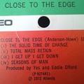 イエス 危機 LP レコード Close to the Edge