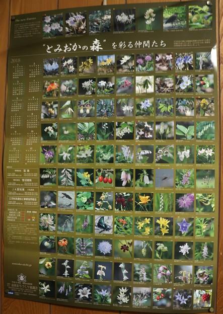 ″とみおかの森″ を彩る仲間たち2018年カレンダー