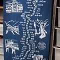 写真: 飯田線駅名暖簾
