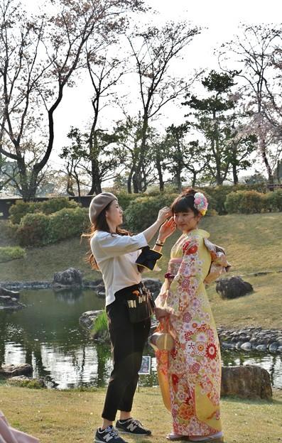たまたま来たら女性プロカメラマンが写真撮っていたので☆トミーも横から撮影許可頂きました。