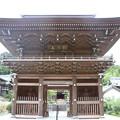 菊川市 正林寺(しょうりんじ)山門の平成二八年再建